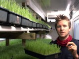 Online now! Sprout farmer Darragh Flynn